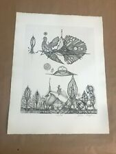 Juliana Seraphim Limited Edition Etching Hand Signed & Numbered I