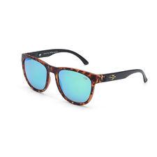 Occhiali da sole sole Santa Cruz, Mormaii marrone e nero con lenti a specchio
