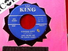 JAMES BROWN~ KANSAS CITY~ NEAR MINT~ STONE FOX~ KING 6086~~ FUNK  45