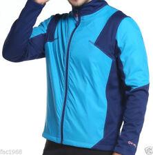 Giubbini da ciclismo termici blu