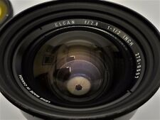 Leitz Canada - Elcan lens f/2.8 - 1 1/2 inch (38 mm for 6 x 6 format!)