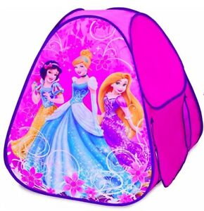 Disney Princess Hide About Pop Up Tent with Tunnel Port - Fun for Princess Play