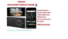 BEST Android  World phone Camera 21MP/13MP RAW img 4K 10-core Unlocked 4G LTE