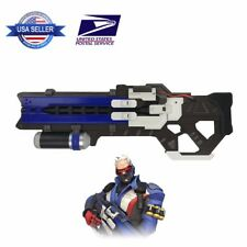 Overwatch 1:1 Size Soldier 76 HEAVY PULSE RIFLE Weapon Gun Halloween Cosplay US