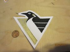 """Pittsburgh Penguins 4 1/2"""" Patch 1992-1999 Primary Logo Hockey"""