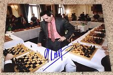 GARRY KASPAROV SIGNED AUTOGRAPH CHESS GRANDMASTER 8x10 PHOTO G w/EXACT PROOF