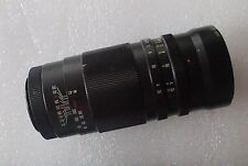 "TELEPHOTO VIVITAR T = 180MM 1:3.5 No. # 199532 LENS MICROSCOPE APPROX 1-5/8"" DIA"