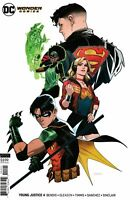 Young Justice Comic Issue 4 Limited Variant Modern Age First Print 2019 Bendis