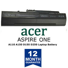 Battery for Acer Aspire One D250 D150 A150 A110 ZG5 531 KAV10 KAV60 UM08A73
