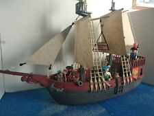 custom de barco pirata playmobil 3550 en buen estado sin roturas