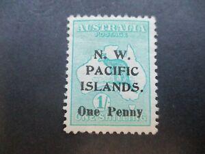 N.W Pacific Islands Stamps: Overprint Variety Mint   (n853)