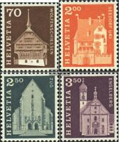 Schweiz 862-865 (kompl.Ausgabe) gestempelt 1967 Städte