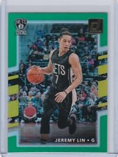 2017/18 JEREMY LIN DONRUSS GREEN #13 NETS