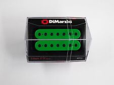 DiMarzio Titan 7 String Neck Humbucker Green W/Black Poles DP 713