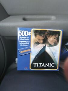 Movie. Famous titantic the 🎥 500 piece. Puzzel. Collector's item
