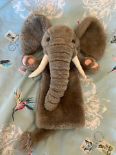 Elephant Long Glove Puppet. The Puppet Company.