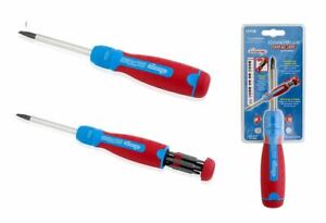 Channellock CHL131CBTP 13 Tamperproof Tip Ratchet Screwdriver Multi Use DIY NEW