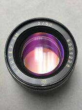 Jupiter 8M ЮПИТЕР-8M 5CM 50mm f2 MF Nikon Contax S clean optic