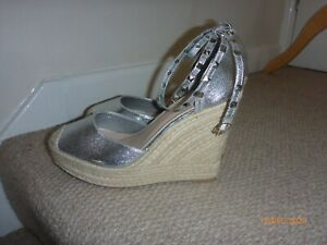 EXQUILY platform wedge shoes size EUR41 UK8 (NEW)