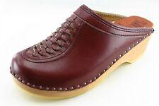 Bastad Size 39 Medium (B, M) Brown Mules Shoes Leather Women