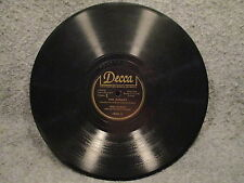 """78 RPM 10"""" Record Fred Waring Ave Maria & The Rosary Decca Records 18301 VG+"""