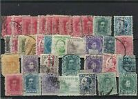 SPAIN  STAMPS ON   STOCK CARD , REF 1259