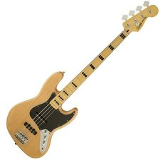 Squier Vintage Modified Jazz Bass 70s NAT Electric Bass guitar Fender