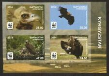 Kyrgyzstan Stamp - Cinereous Vulture--WWF Stamp - NH