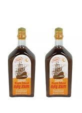 Pinaud Clubman VIRGIN ISLAND BAY RUM MEN'S AFTERSHAVE COLOGNE 2pcs On Sale!