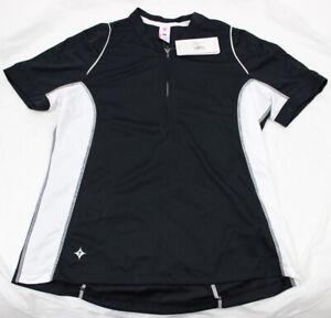 Specialized Women's Shasta Short Sleeve Jersey, Black/White, Small