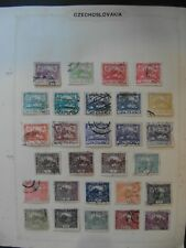 Czechoslovakia collection 1918+ ,  71 leaves.