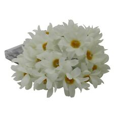 Daisy Warm White String Lights Silk Flowers Indoor Outdoor Wedding Party Décor
