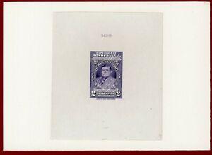 Honduras 1949 #C179, Die Proof on Card, General Carias, ABNC