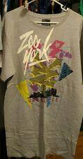 Men's size 2XL Gray ZOO YORK Short Sleeve Shirt in EUC