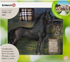 Schleich 42269 Pferdepflegeset FRIESE Neu !