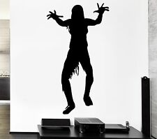 Wall Decal Monster Zombie Dead Cemetery Fear Corpse Vinyl Stickers (ed202)