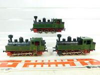BT208-1# 3x Märklin H0/AC 3087 Tenderlok/Dampflok Länderbahn KLVM