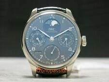 IWC Portugieser Perpetual Calendar Perpetual Single Moon phase iw503301 New !