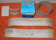 1969 Mercury Cougar Eliminator NOS BLACK ELIMINATOR BODY STRIPE KIT