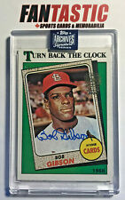 Bob Gibson Auto /75! 2020 Topps Archives Signature Retired CARDINALS 1988 #664