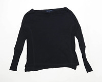 French Connection Womens Size XS Modal Black Top (Regular)