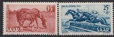 SAAR:1949 Horse Day  set SG 262-3 mint