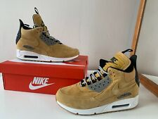 Nike Air Max 90 Sneakerboot Suede bronze wheat size 8.5UK / 43 EUR