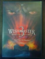 Wishmaster 3 Signed DVD by Jason Connery the Wishmaster autographed