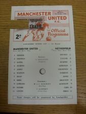 07/10/1968 Manchester United v Netherfield [Lancashire Senior Cup] (small punch