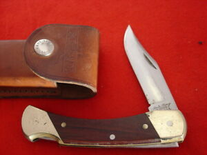 "Schrade USA Made Uncle Henry LB7 BEAR PAW 5"" Lockback Lock Blade Knife"