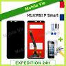 """VITRE TACTILE + ECRAN LCD PRET-A-MONTER POUR HUAWEI P SMART NOIR 5.65"""" + FILM"""