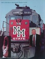1997-98 NEW MEXICO STATE AGGIES BASKETBALL MEDIA GUIDE