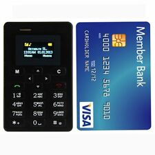 CHILLI C08 BLACK World's Ultra Slim Credit Card Size Smallest Mobile with camera
