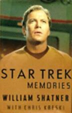 1993 Star Trek Memories by William Shatner  Hardcover Autobiography Book- UNREAD